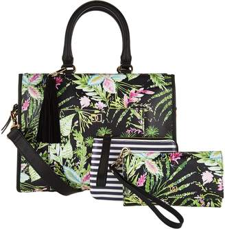 Dena Satchel with Pouch and Wristlet Phone Sleeve