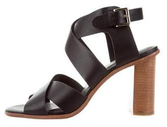 Joie Leather Crossover Sandals