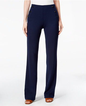 Style & Co. Pull-On Sailor Pants, Only at Macy's $49.50 thestylecure.com