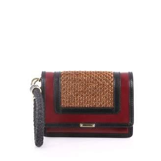 Burberry Red Leather Handbag