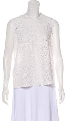 6397 Sleeveless Lace Top