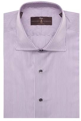 Robert Talbott Tailored Fit Stripe Dress Shirt