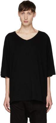 Julius Black V-Neck T-Shirt