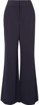 See by Chloe Crepe Wide-leg Pants - Navy