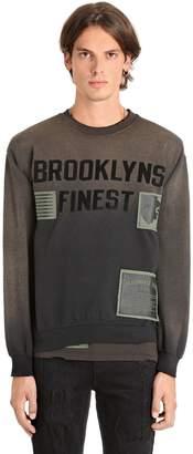 Madeworn X Jay Z Brooklyns Finest Cotton Sweatshirt