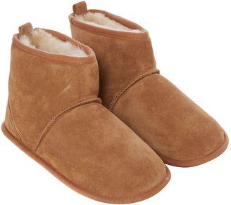 just sheepskin s chester boot slipper