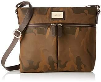 Bogner Aya, Women's Cross-Body Bag, Mehrfarbig (Camouflage), 6x22x24 cm (B x H x T)