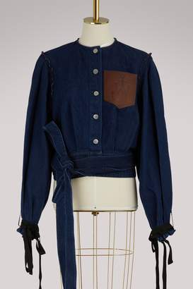 J.W.Anderson Cropped denim jacket