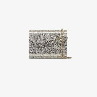c8778314e9b Jimmy Choo Metallic Candy glitter clutch bag