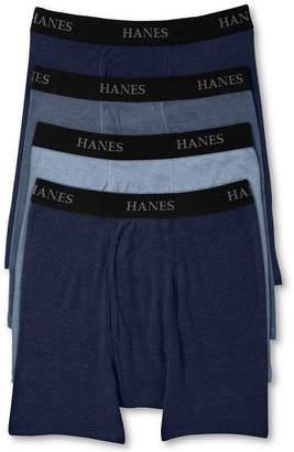 Hanes Men's Platinum FreshIQ Underwear, Boxer Brief 4 Pack