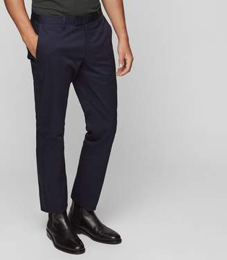 Reiss WARICK REGULAR FIT CHINOS Navy
