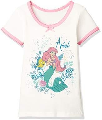Disney (ディズニー) - [ディズニー] リトルマーメイドアリエル3分袖Tシャツ 371100852 ガールズ オフ 日本 130 (日本サイズ130 相当)