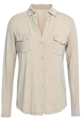 Majestic Filatures Stretch-Jersey Shirt