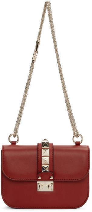Valentino Red Valentino Garavani Small Lock Bag
