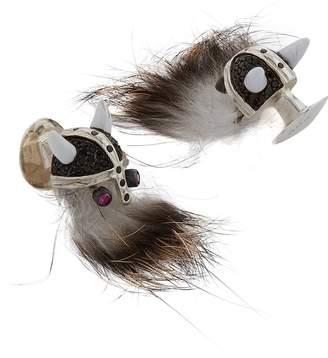 Deakin & Francis Hairy Viking Cufflinks