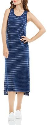 VINCE CAMUTO Pinstripe Tank Dress $99 thestylecure.com