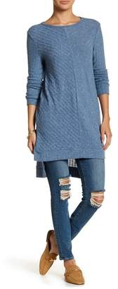 Susina Cozy Ribbed Tunic