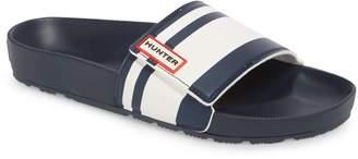 Hunter Garden Stripe Adjustable Sport Slide Sandal