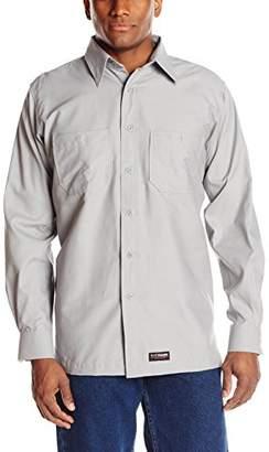 Wrangler Workwear Men's Long Sleeve Work Shirt