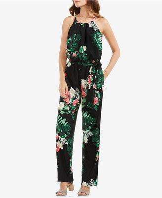 Vince Camuto Floral-Print Jumpsuit $149 thestylecure.com