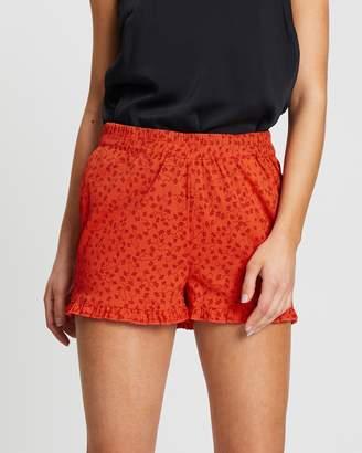 Vero Moda Floral Frill Shorts