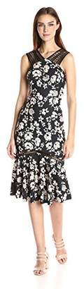 Tracy Reese Women's Lace Combo Dress