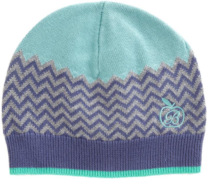 Bonnie Baby Zig Zag Jacquard Hat