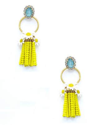 Elizabeth Cole Bastian Tassel Drop Earrings