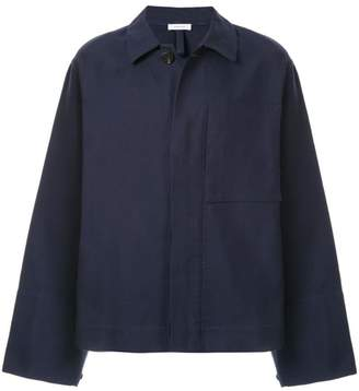 Jil Sander chest pocket shirt jacket