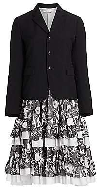 Comme des Garcons Women's Tiered Ruffle Jacket