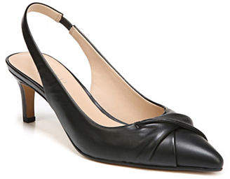 Franco Sarto Dianora Leather Slingback Pumps