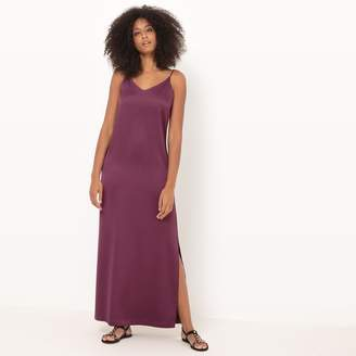 La Redoute Collections Maxi Dress with Shoestring Straps