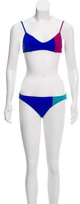 Araks Colorblock Two-Piece Swimsuit w/ Tags