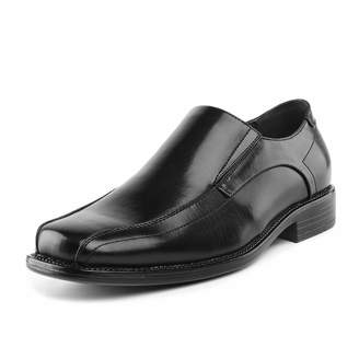 77d1f7784f9 Andrew Marc BRUNO Bruno Marc STATE-01 Men s Formal Loafers Stretch Oxfords  Slip On Leather