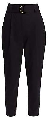 A.L.C. (エーエルシー) - A.L.C. Women's Diego High-Waist Belted Ankle Pants