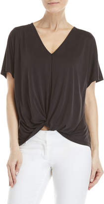 Lush Front Knot Tee