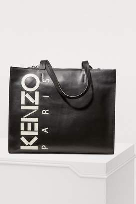 Kenzo Leather shopping bag