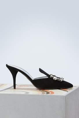 Prada Swarovski slippers