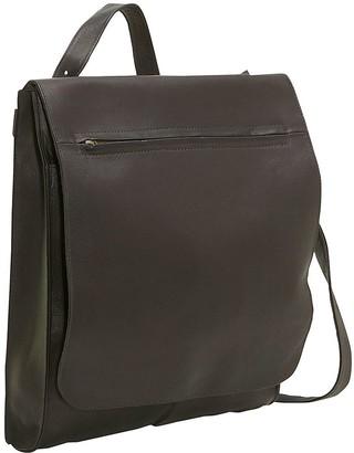 Le Donne Leather Convertible Shoulder Bag/Backpack