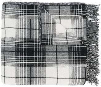 Off-White check blanket scarf