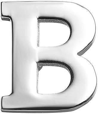 MISSU JEWELLRY 26 Alphabet Letters Collar Pins Business Suit Lapel Pin Badge (B)