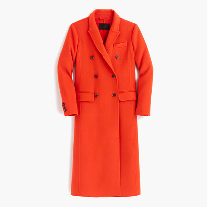 J.Crew Collection wool-cashmere duster coat