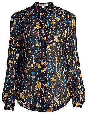 671e7ae42ef35 Equipment Women s Cornelia Floral Silk Blouse