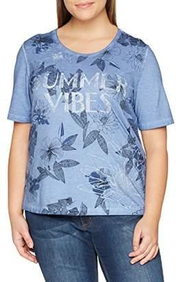 Via Appia Women's T-Shirt Rundhals 1/2 Arm Motiv Loose Fit Short Sleeve T - Shirt