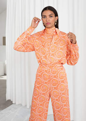 And other stories Tailored Button Up Shirt
