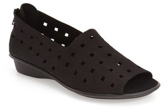 Sesto Meucci 'Evonne' Cutout Open-Toe Flat $149.95 thestylecure.com