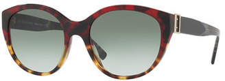 Burberry Gradient Cat-Eye Buckle Sunglasses