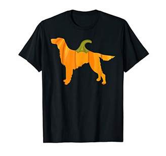 Irish Setter Halloween Dog Pumpkin Women Owners Gifts T-Shirt