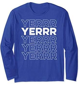 Yerrr New York Long Sleeve Shirt
