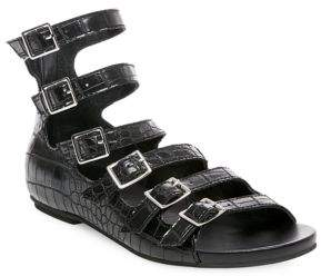 Croco Design Lab Textured Sandals